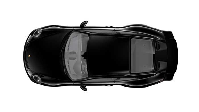 porsche 911 991 MK2 GT3 08 noir série