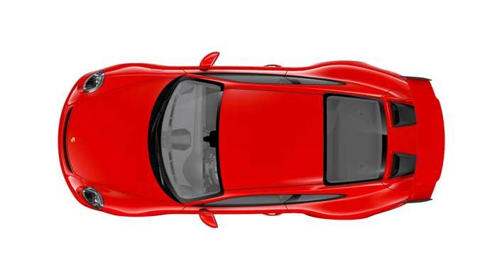 porsche 911 991 MK2 GT3 08 rouge indien série