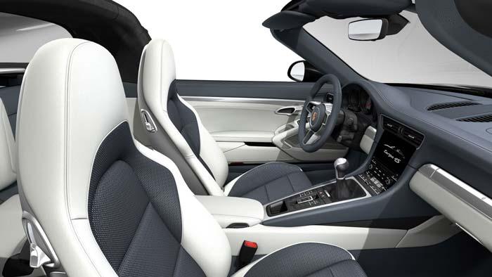 porsche 911 targa interieur Sport tex graphite bleu crayon light ...