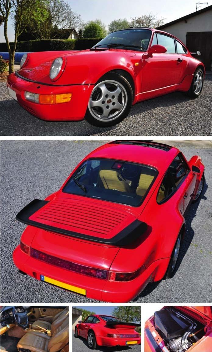 Porsche 964 Turbo 3.3 de 1991