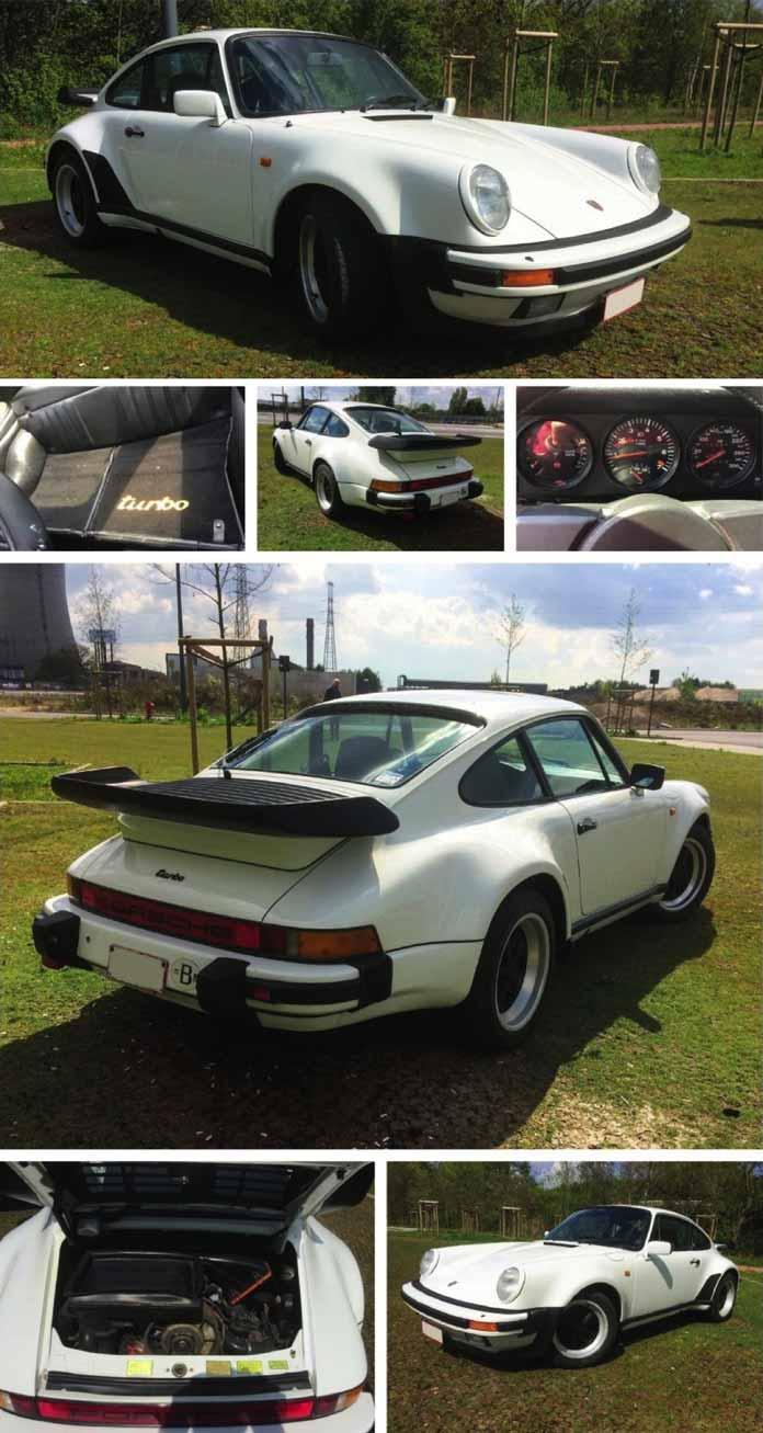 Porsche 911 Turbo 3.3 de 1984