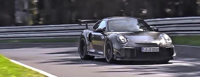 Porsche 911 991 MK2 GT2 RS 700 chevaux circuit nurburing