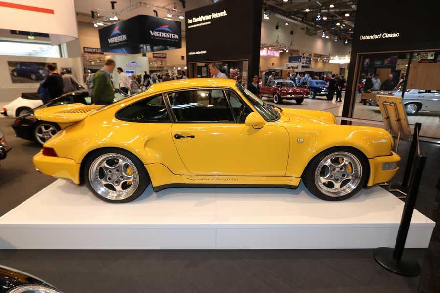 Porsche 911 Type 964 turbo S Leichtbau 1992 - Couleur : Speedgelb