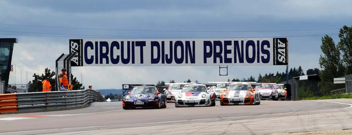 Circuit Dijon Prenois Meeting Club Porsche Motosport