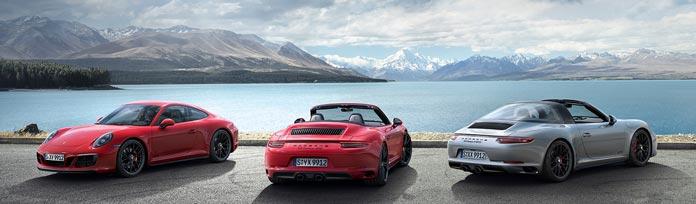 gamme porsche 911 gts choix sportif esthetique