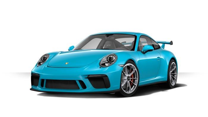 porsche 911 991 MK2 GT3 05 bleue miami