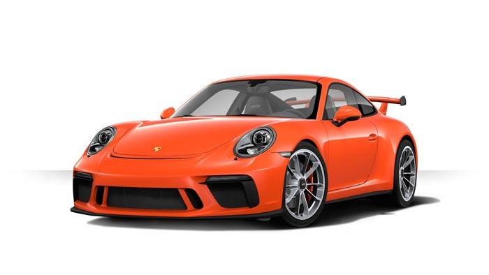 porsche 911 991 MK2 GT3 05 orange fusion option speciale