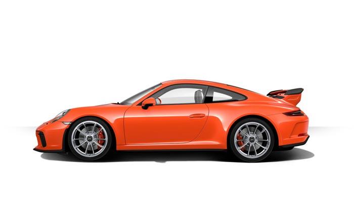 porsche 911 991 MK2 GT3 07 orange fusion option speciale