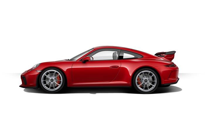 porsche 911 991 MK2 GT3 07 rouge carmin option speciale