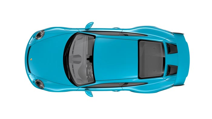 porsche 911 991 MK2 GT3 08 bleue miami option speciale
