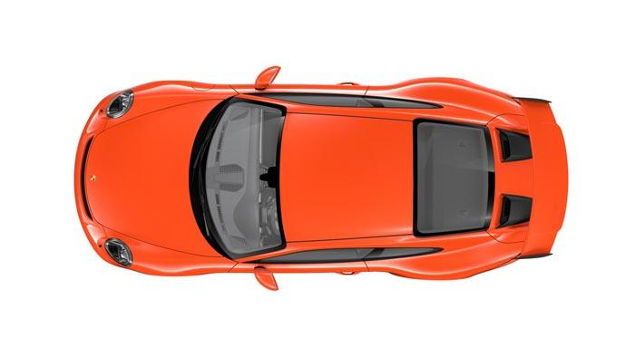 porsche 911 991 MK2 GT3 08 orange fusion option speciale