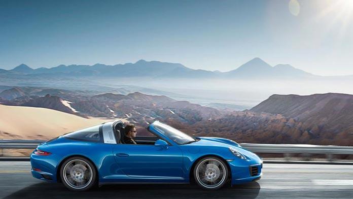 Porsche 911 991 Targa utilisation au quotidien