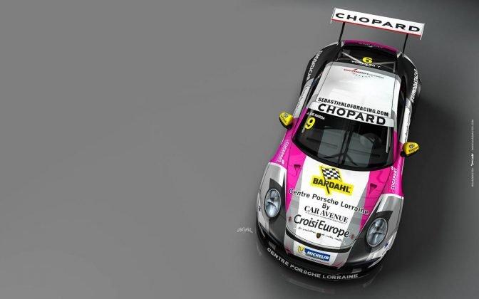 Porsche 911 GT3 CUP sebastien loeb racing centre porsche lorraine 01