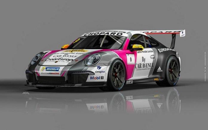 Porsche 911 GT3 CUP sebastien loeb racing centre porsche lorraine 02
