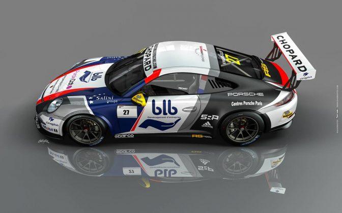 Porsche 911 GT3 CUP sebastien loeb racing centre porsche paris 01