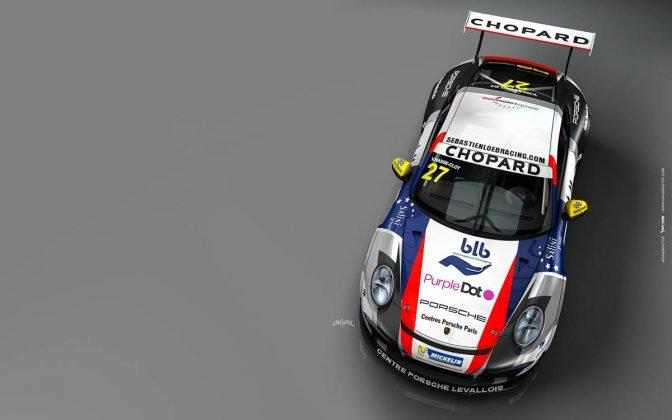 Porsche 911 GT3 CUP sebastien loeb racing centre porsche paris 02