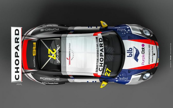 Porsche 911 GT3 CUP sebastien loeb racing centre porsche paris 04