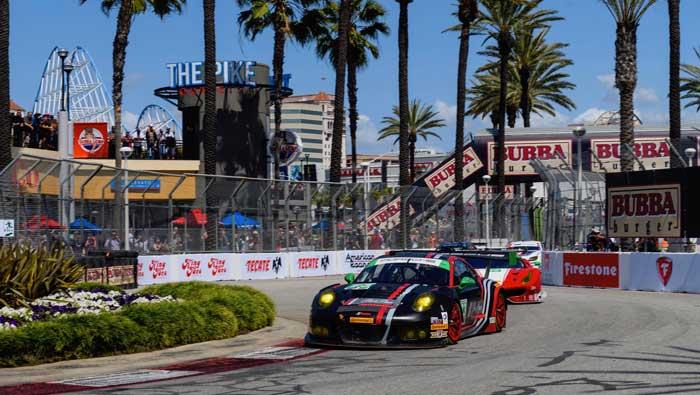 porsche 911 RSR imsa sportscar championnat long beach usa 2017
