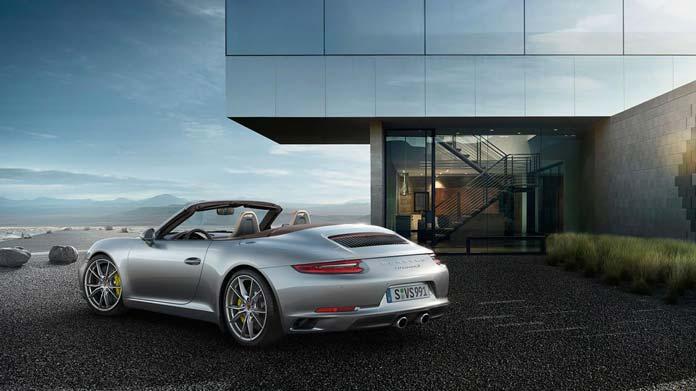 Porsche Carrera S Cabriolet conduite zen