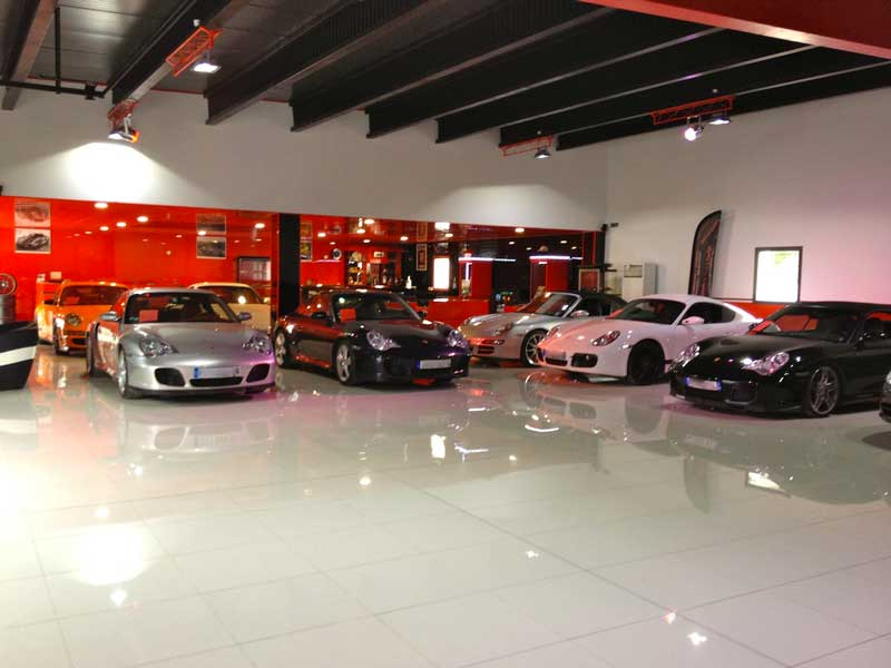 showroom catsellet porsche motor sport car