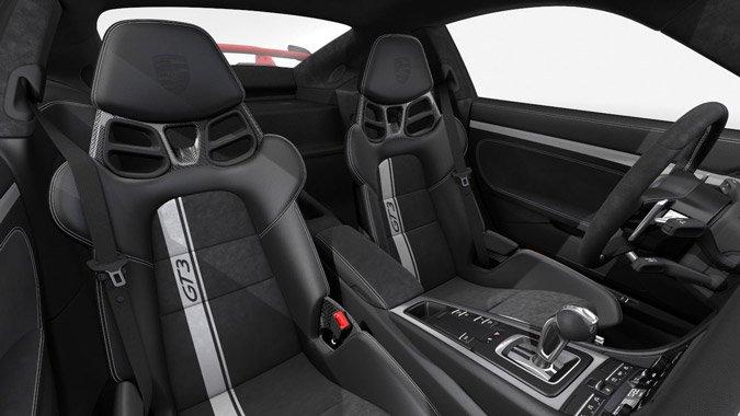les options de la porsche 911 gt3 type 991 mk2 phase 2 911andco. Black Bedroom Furniture Sets. Home Design Ideas
