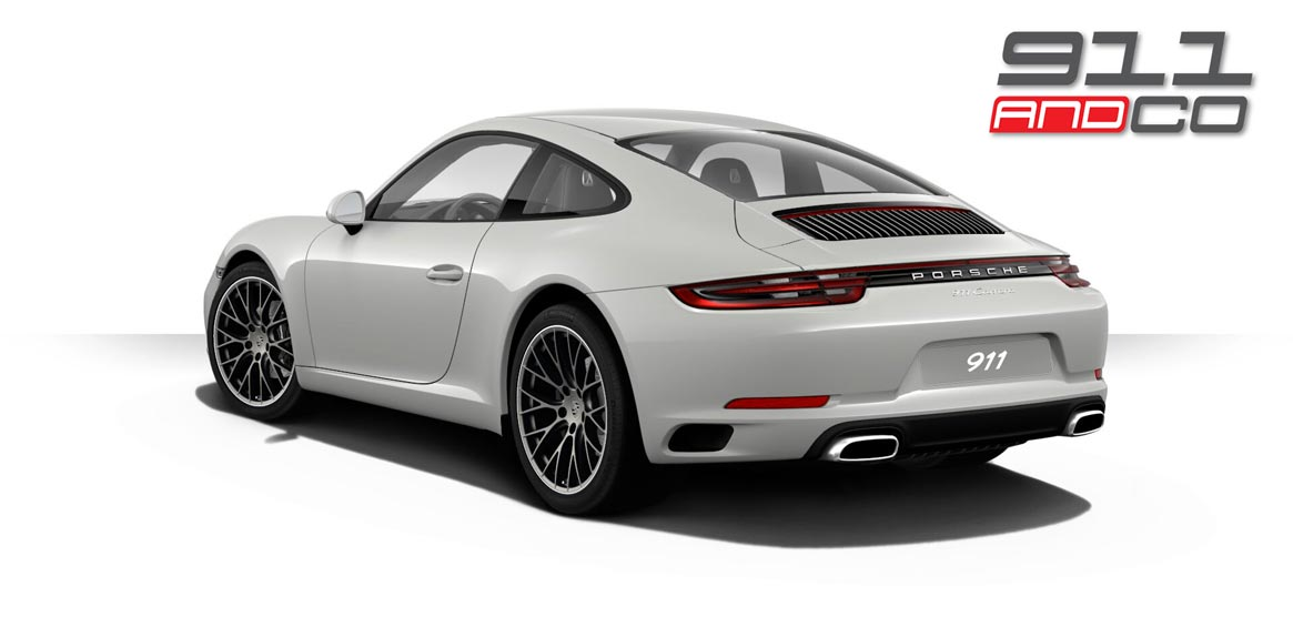 911 type 992 simulation arriere 2017