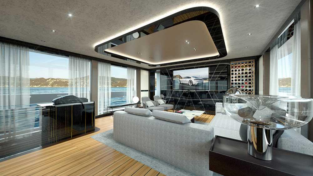 Super yacht Porsche Dynamiq GTT 115 4 interieur luxueux