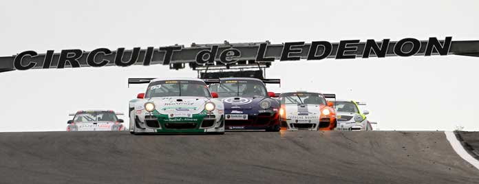 circuit Ledenon Club Porsche Motorsport-meeting