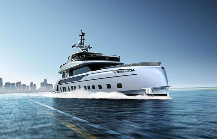 dynamiq gtt 115 hybrid le super yacht porsche_01