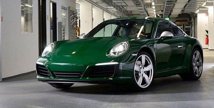 Millionieme Porsche 911