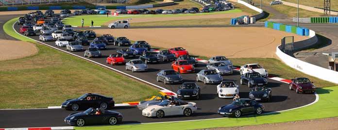 Parade Porsche Days Magny-Cours