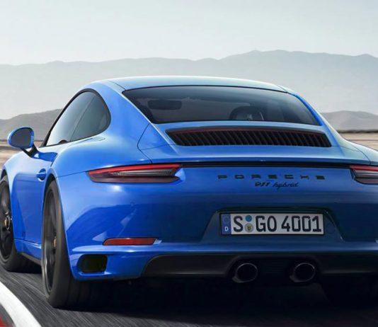 Porsche 911 992 hybride