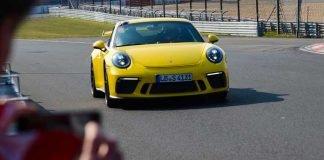 nouveau record piste porsche 911 gt3