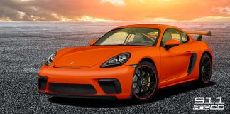 simulation porsche cayman 718 GT4 RS 1070