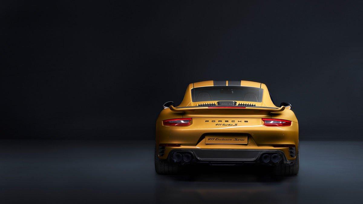 Porsche 911 turbo s exclusive series 2017 03