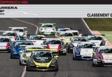 bandeau classement Porsche Carrera Cup France 2017 categorie