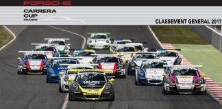 bandeau classement Porsche Carrera Cup France 2017 categorie