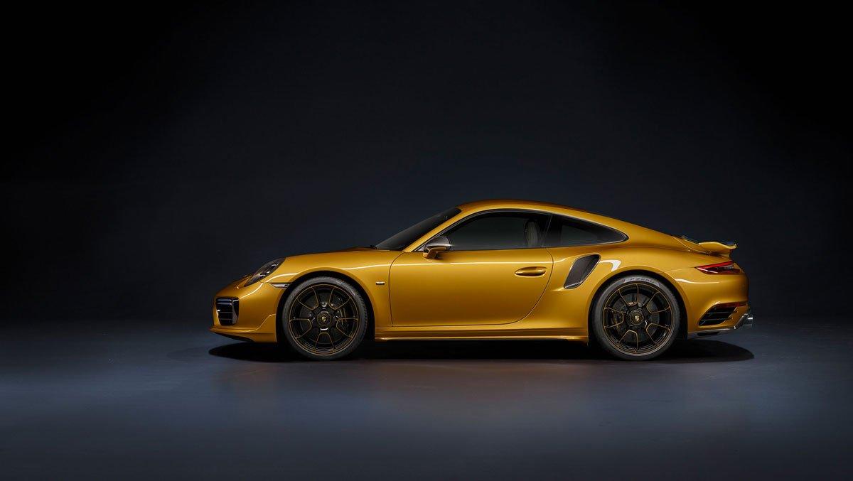 porcshe 911 turbo s exclusive series 2017 1