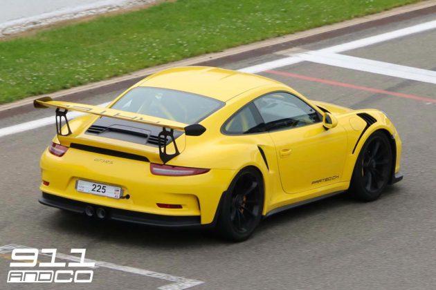 porsche-911-991-gt3-rs-jaune-AR-21-circuit-spa-francorchamps-days