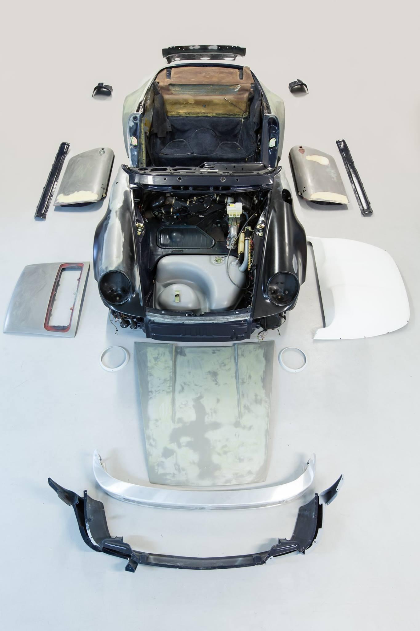 Porsche 911 Speedster restauration
