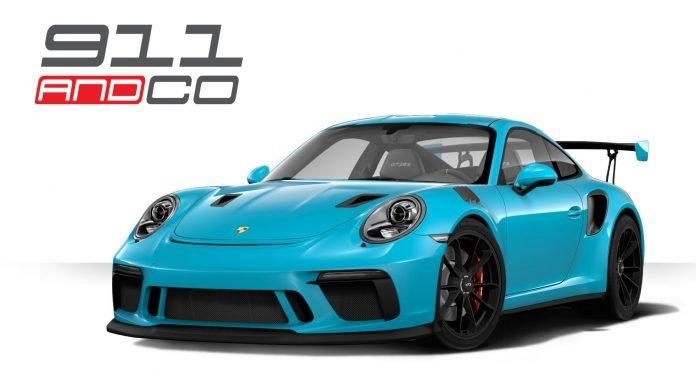 Porsche 911 GT3 RS restylée