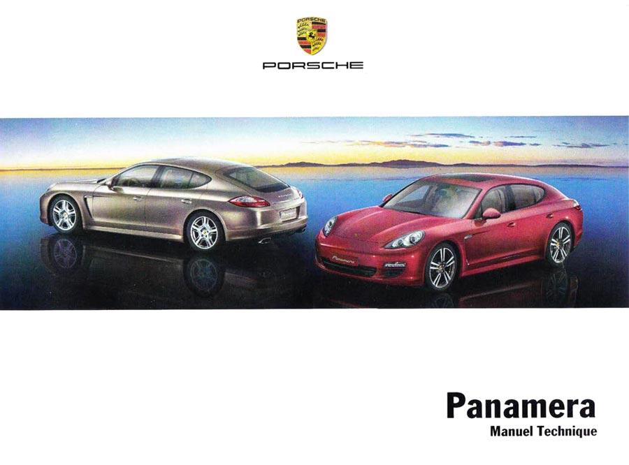 Manuel technique Porsche 970 Panamera 4 300ch 2011-2013