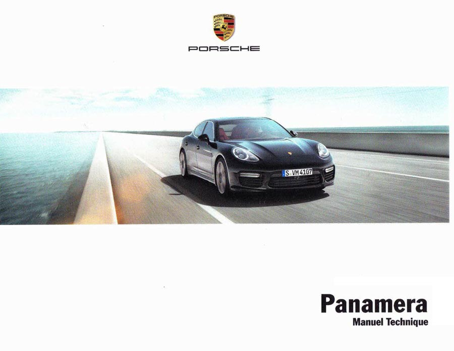 Manuel technique Porsche Panamera 4 S 4S Executive Diesel (970) 2014-2016