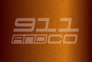 couleur porsche 911 997 or nordique m2z nordishgold 2006-2012