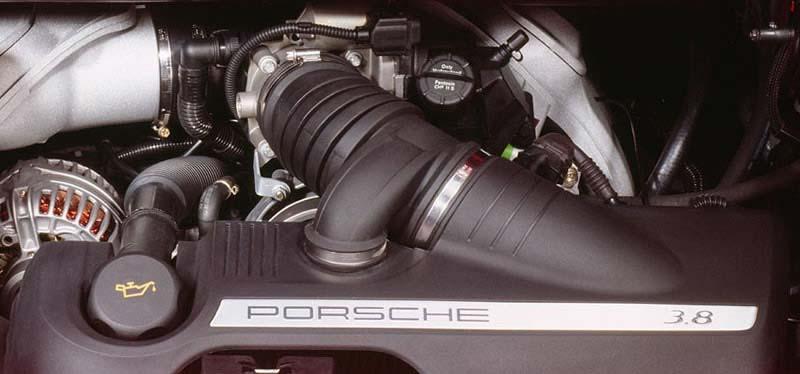 moteur Porsche 911 Targa 4S type 997 MK1 phase 1 355ch 3.8l