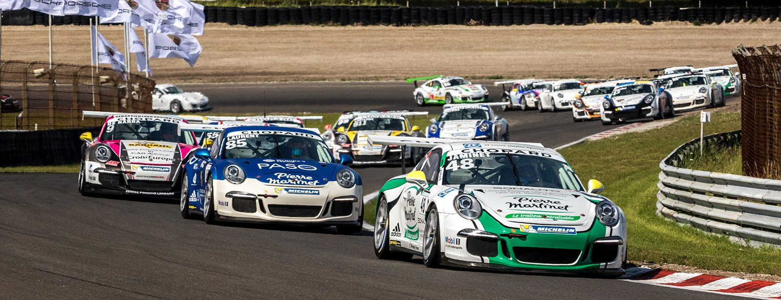 Porsche Carrera Cup Dijon 2017