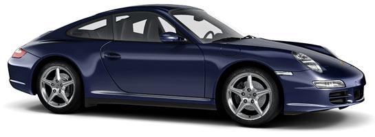 couleur bleu nuit 39C nachtblau porsche 911 997 carrera s 4s targa mk1