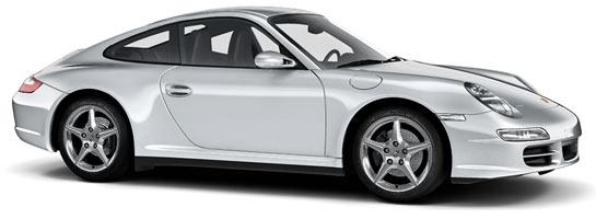 couleur gris arctique 92u X1 arktissilber porsche 911 997 carrera targa s 4s mk1