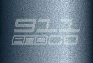 Porsche 911 G couleur peinture code 661 bleu ardoise schiefferblau mausgrau slate blue metallic 60u X6X6 X6V9