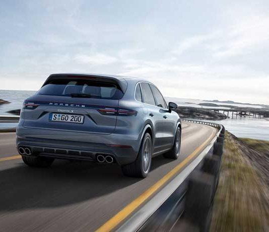 nouveau Porsche cayenne s 2017
